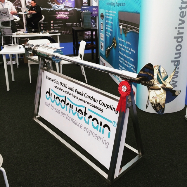 Duodrivetrain - Seawork Innovation Showcase 2016 Winners
