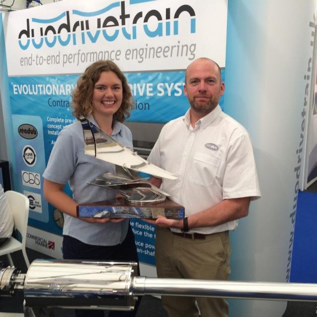 Duodrivetrain - Seawork Innovation Showcase 2016 Winners